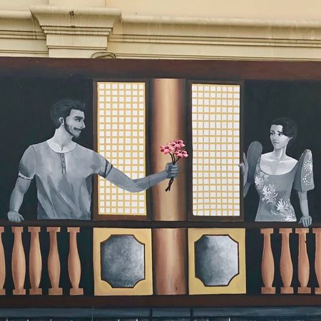 Love is the air... Architecture Spanish Style east meets west
