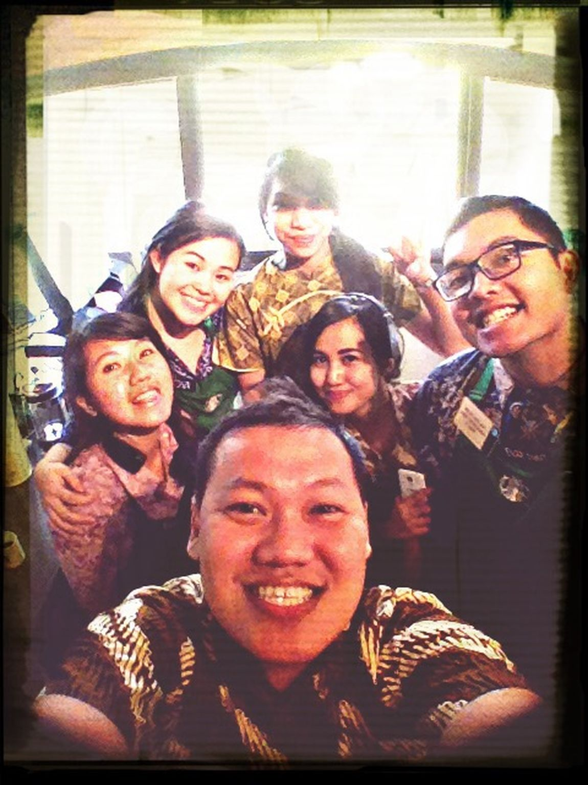 Today batik day at out store