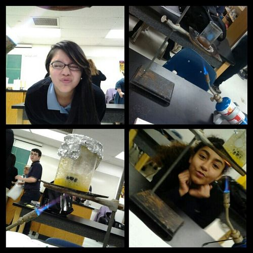 Forget Science, let's take pictures! ;) .. Yess! I'm in high school and still wear uniform. :(
