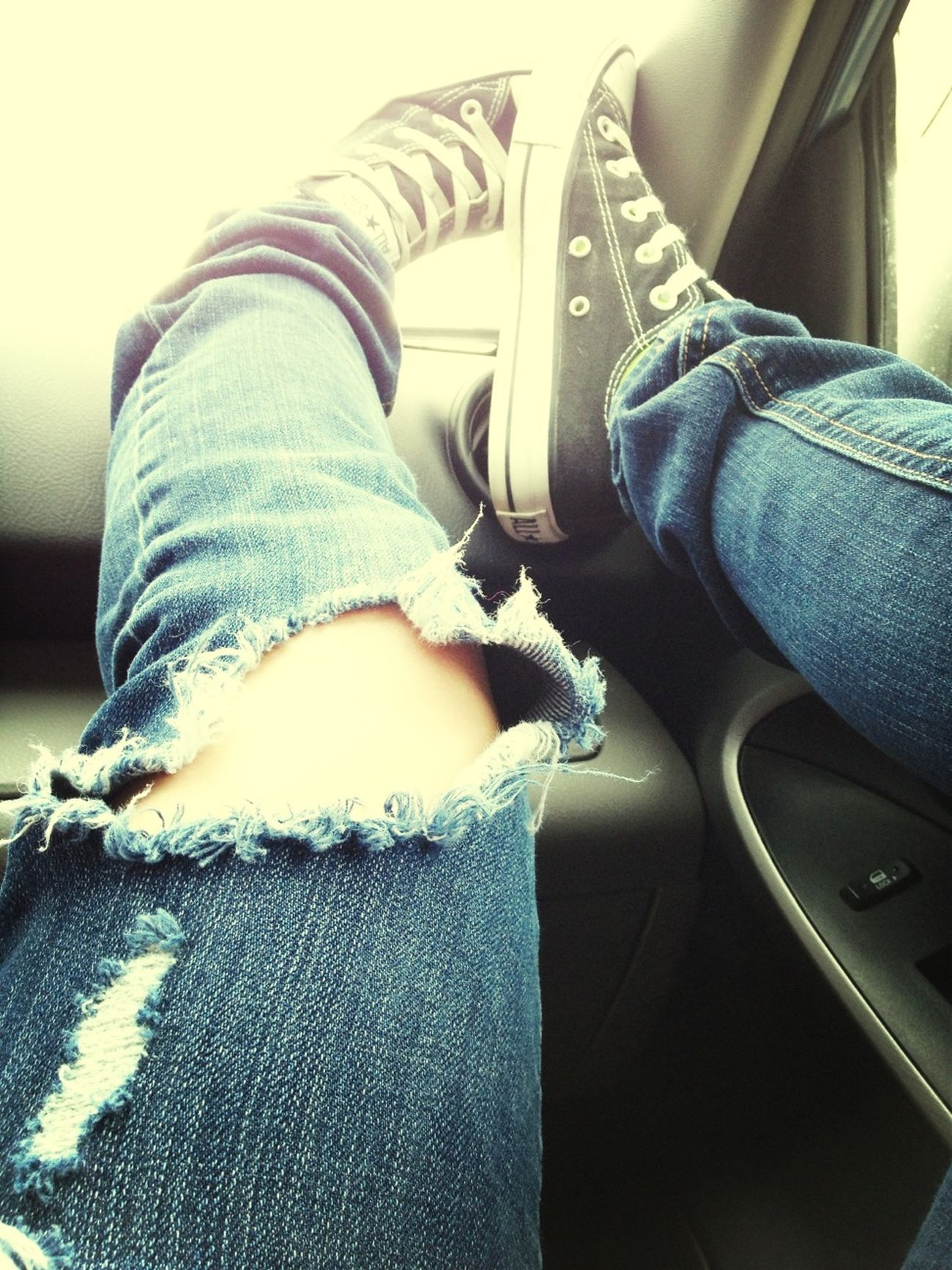 Kickin It In The Converse