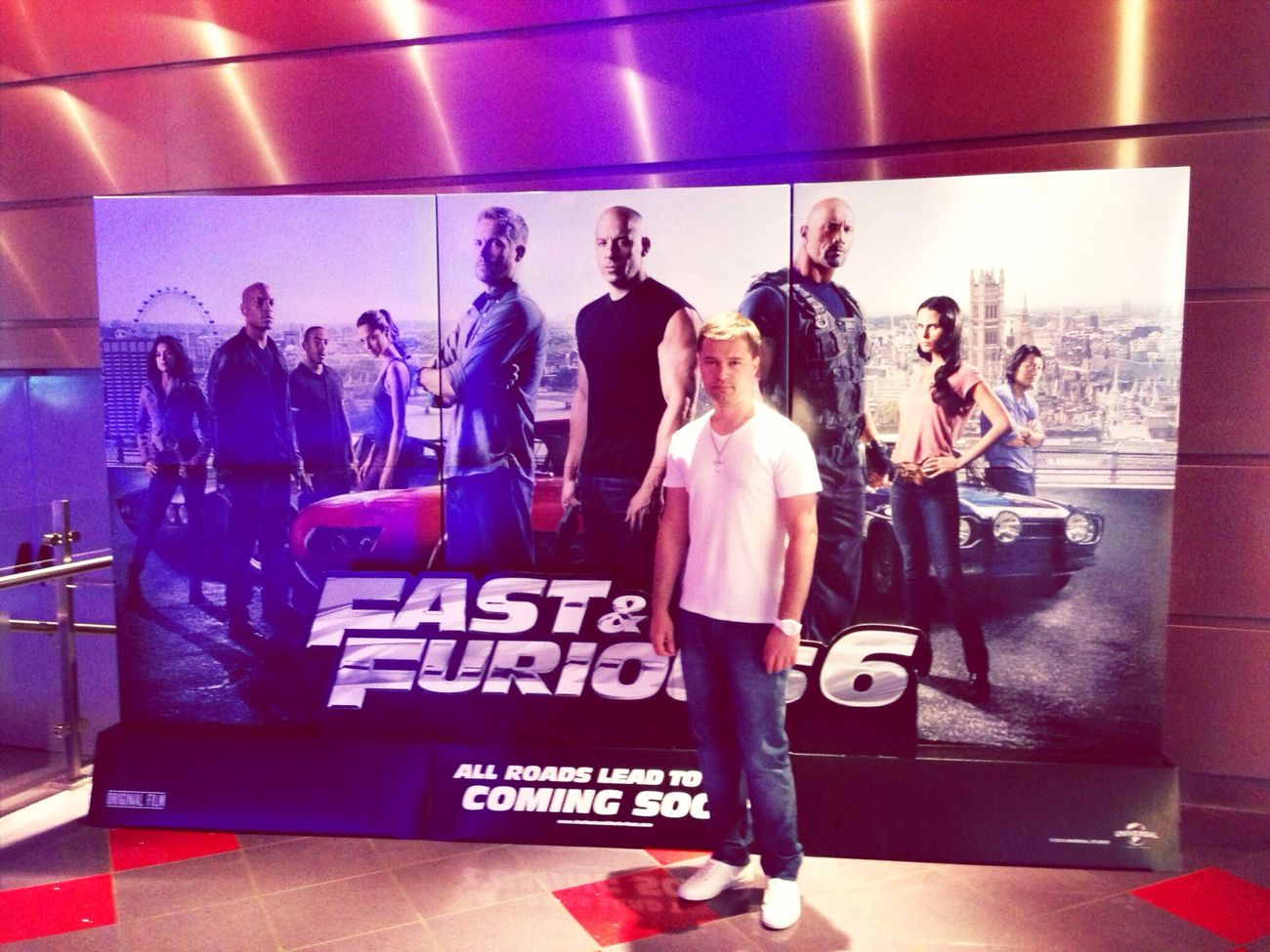 Me @ Cinema Fast&Furious6 Premiere 1 Year Ago