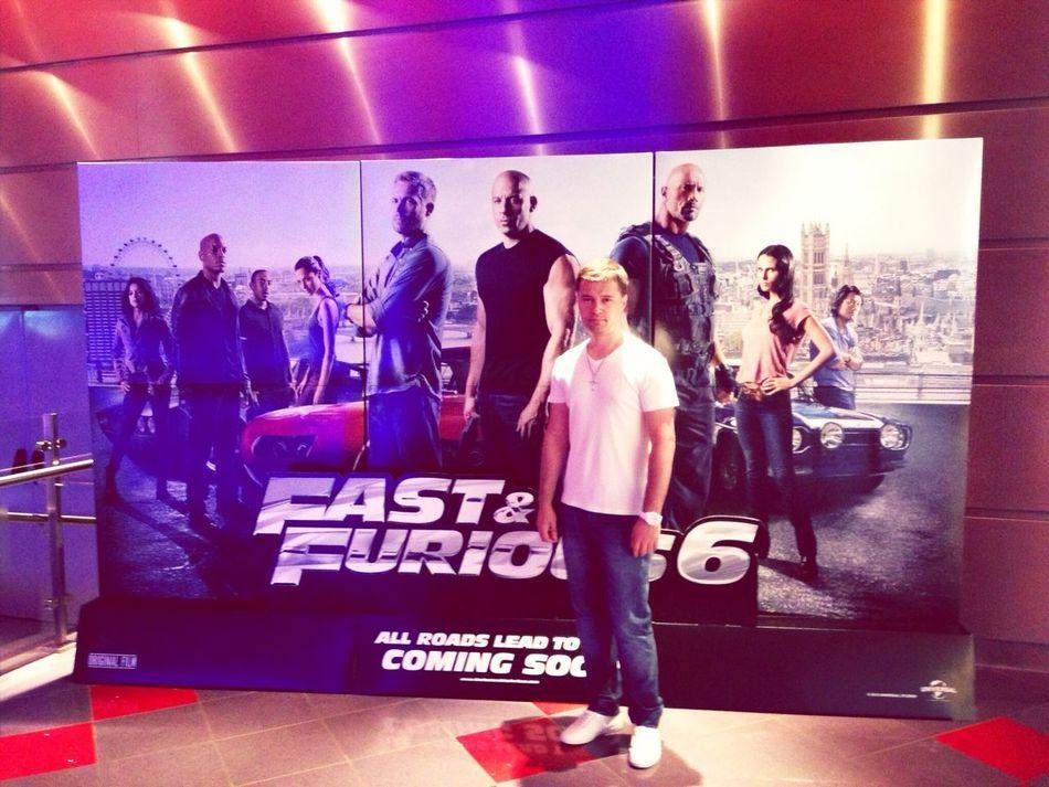 Me @ Cinema Fast&Furious6 Premiere 1 Year Ago