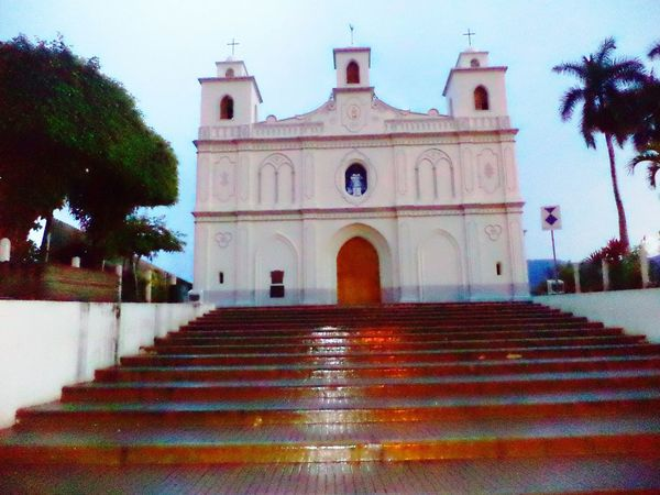 Ahuachapan  El Salvador Church