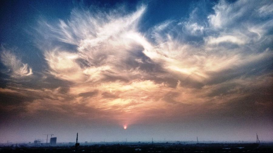 Architecture Cloud - Sky Day Nature No People Outdoors Silhouette Sky Sunset First Eyeem Photo