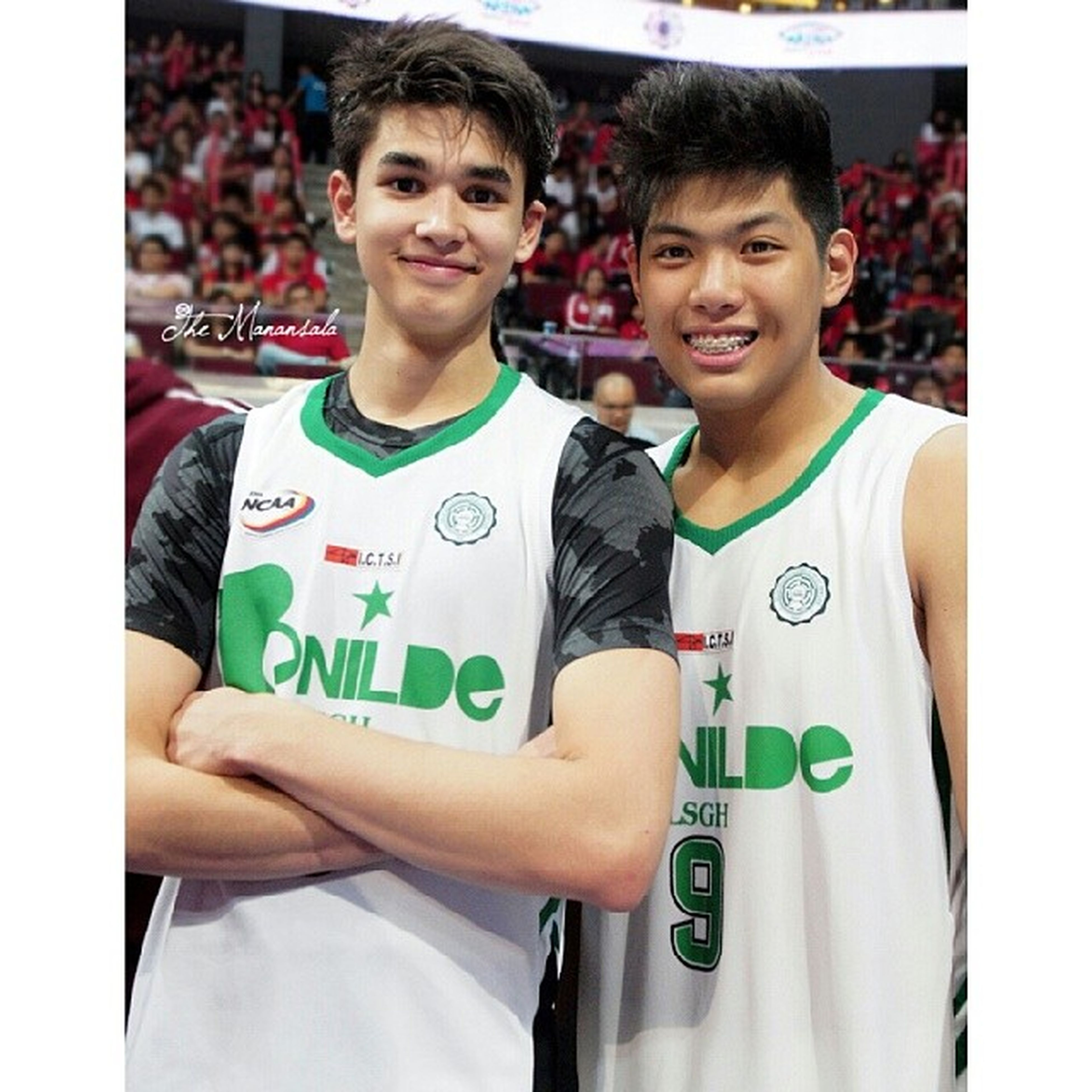 CSB-LSGH's Kobe Paras is named in Mythical Five (50.35 Total SP) while Rashleigh Rivero is Most Valuable Player (67.17 Total SP) and Defensive Player (10.83 def. rebs; Per game: 1.00 blks, 1.17 stls) this Ncaa89 Juniors Division Basketball Basketball Juniors Mythical5 mvp defensiveplayer kobeparas rashleighrivero csb lsgh