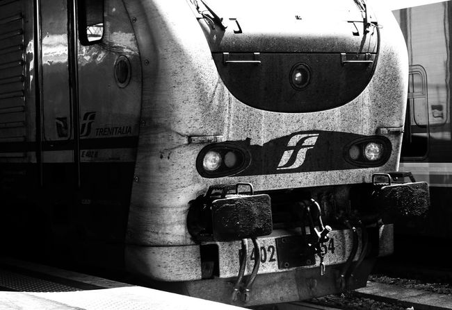 Memories Rome Blackandwhite Close-up Communication Day Holydays Light And Shadow Locomotive No People Number Old-fashioned Outdoors Sadness Steam Train Streetphotography Text Train Train Station Transportation Voyage