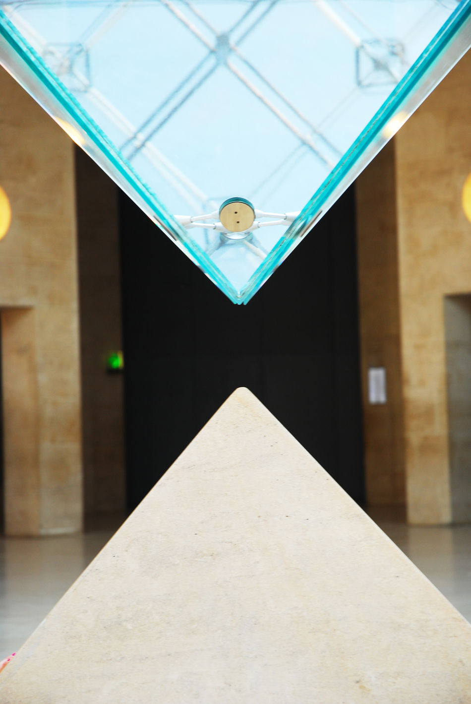 #Pyramide Du Louvre Architectural Feature Ceiling Close-up Day Design Directly Below Geometric Shape Modern No People Tile