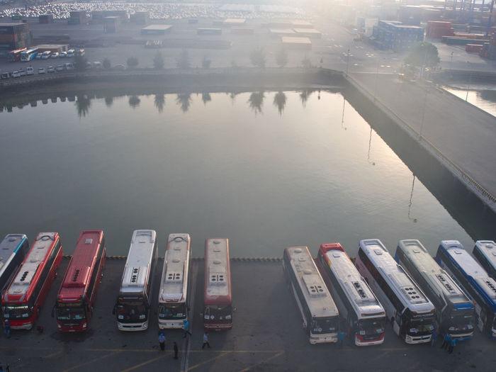 Port of Phu My in Vietnam Bus Phu My Hung Port Transportation Vietnam Working Port