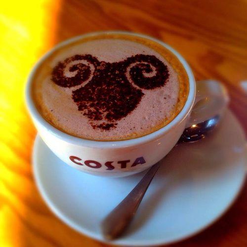 Coffee Time Costa Coffee The year of the sheep/goat/ram?2333羊年大吉