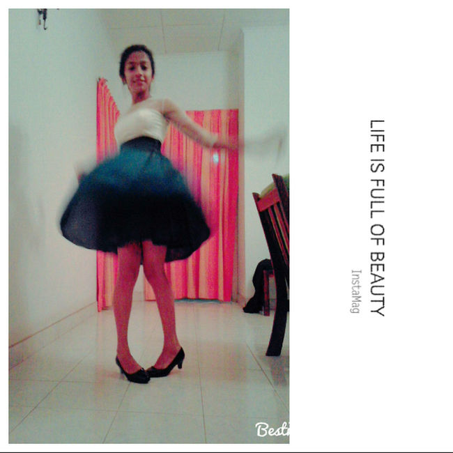 DANCE ♥ EyeEm Gallery Frock Leisure Activity Lifestyles Lovely My Sister ❤ Portrait She Cute