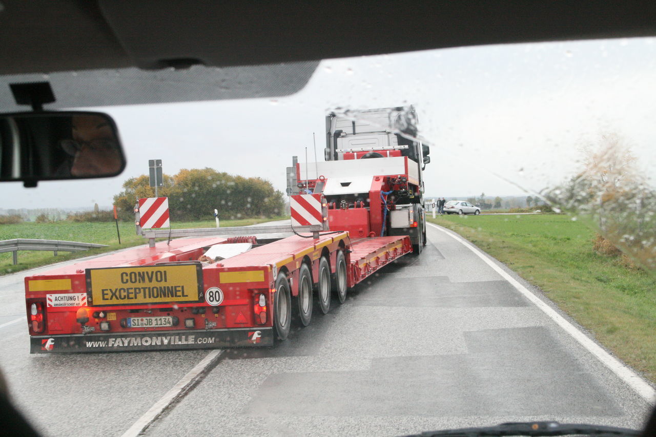 Fall in Brandenburg Car Day Freight Transportation Land Vehicle Mode Of Transport No People Outdoors Road Semi-truck Sky Transportation Truck