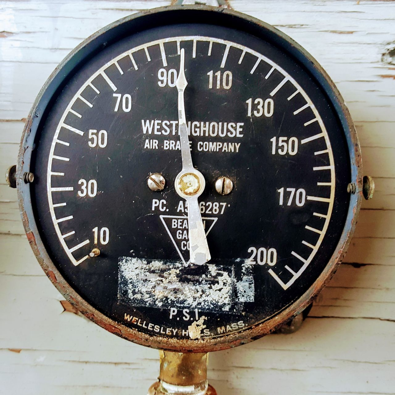 no people, close-up, day, gauge, outdoors