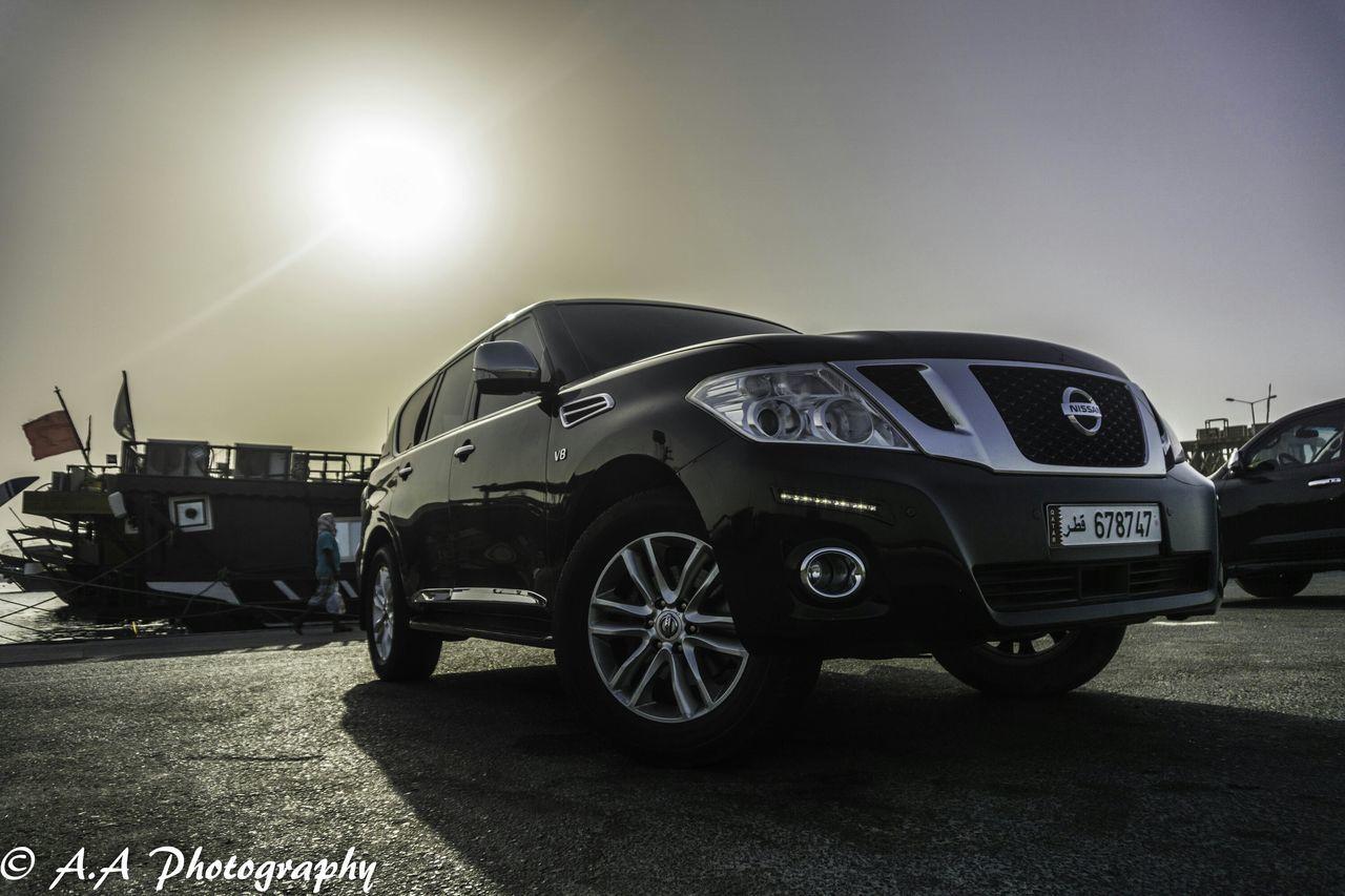 Nissan patrol in the sun. Nissan Nissan Patrol Sun Alloy Wheels Alloy Cars SUV Sony A6000
