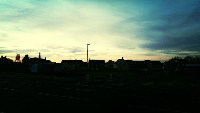 Glastonbury,s beautiful sun set Routine Check Up