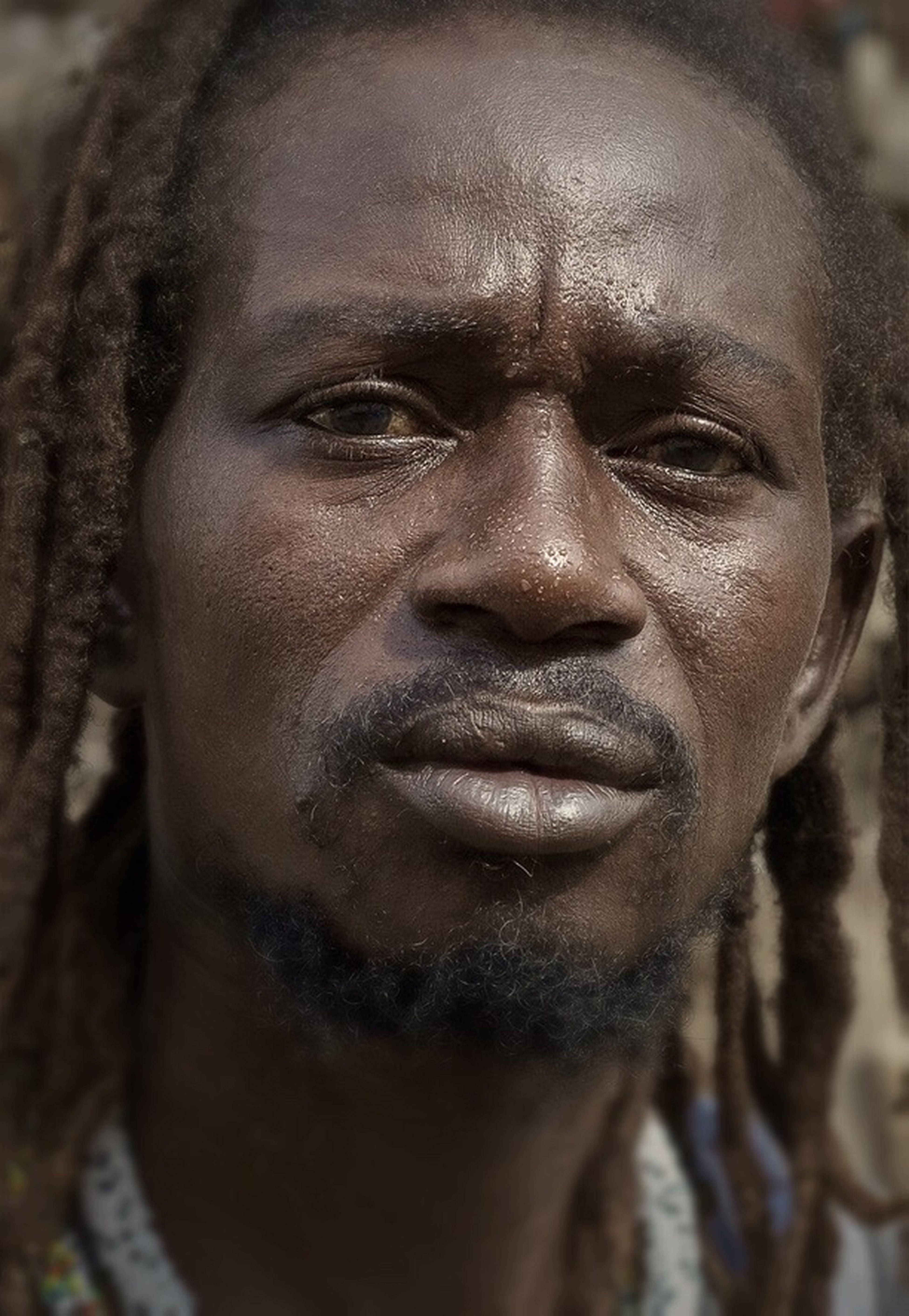 Amadou Portrait Street Portrait African