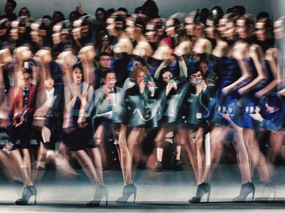 To many models ! London fashion week