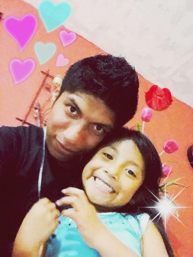 Con mi pequeña