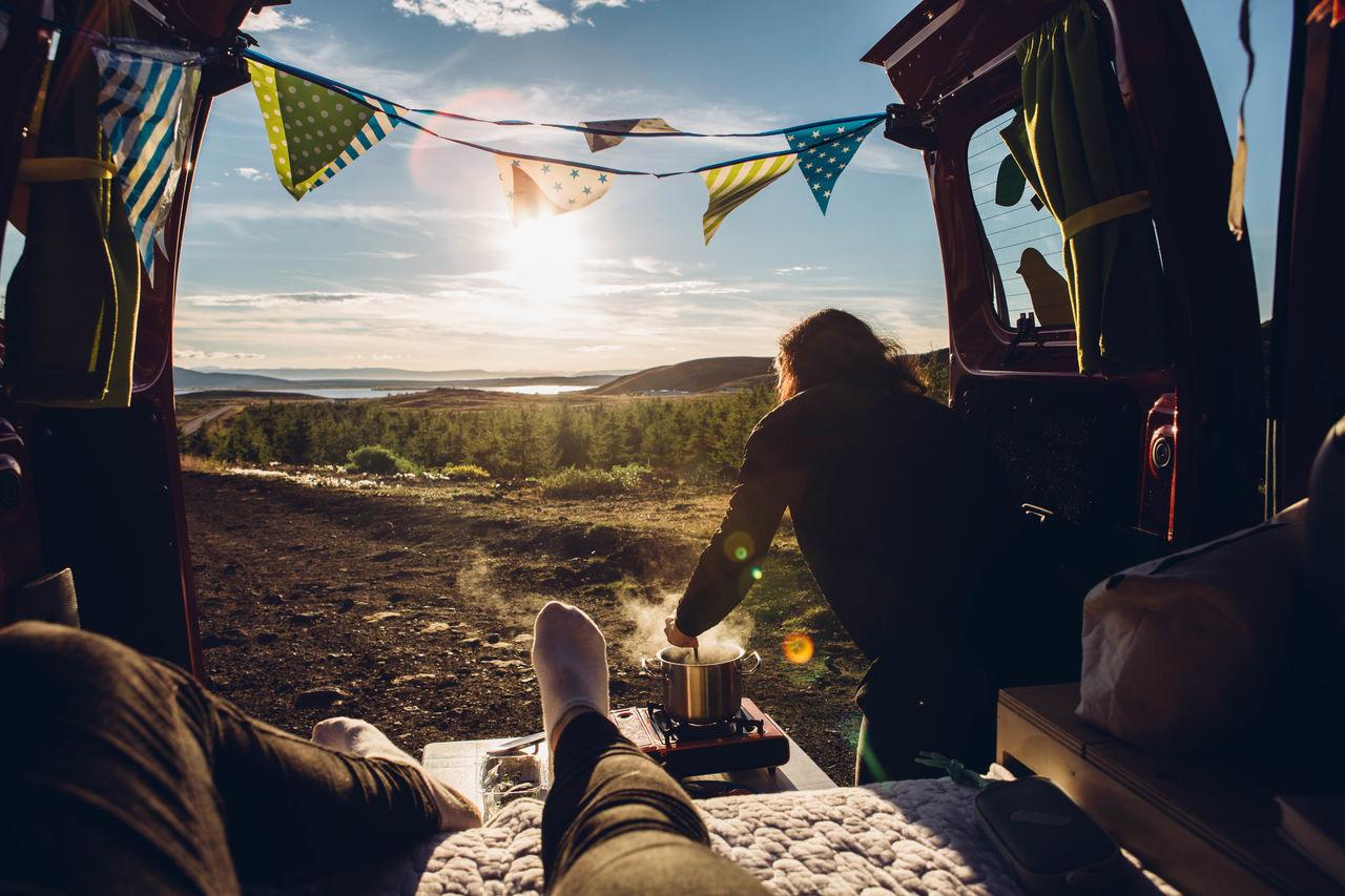 Beautiful stock photos of fall,  Bright,  Camping,  Camping Stove,  Carefree
