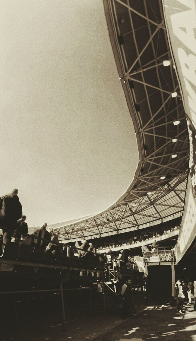 Architecture Built Structure Vertical Low Angle View Building Exterior Outdoors City Sky Day From My Point Of View (c) 2016 Shangita Bose All Rights Reserved Audience Architecture Low Angle View Feyenoord Stadium De Kuip Feyenoord Rotterdam Soccer Fans Match Of The Day Ajax Amsterdam From Their Point Of View 📱 Rotterdam Netherlands Carefree
