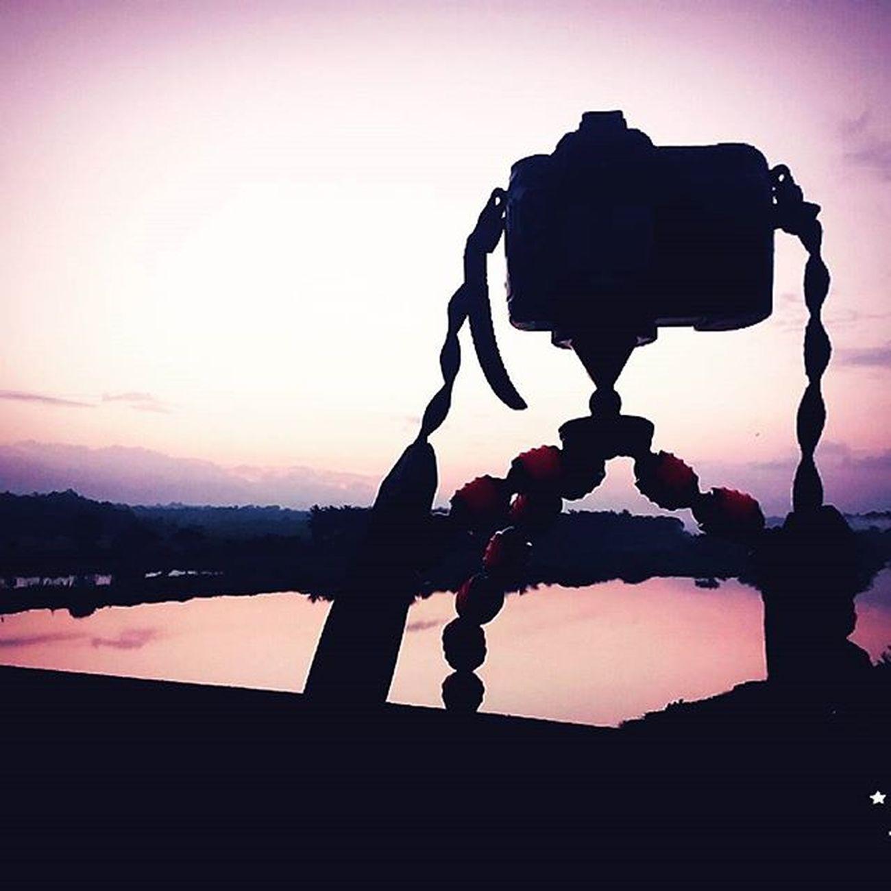 MrngRide Photographyislifee Chilled_mrng Risingsun Hopefull Gorrila_pod D50 B612click