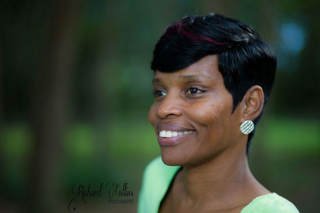Spontaneous photo shoot yesterday bc of new hairstyle. Apopka Bike Trail Orlando Florida Beautiful Short Hair Black Woman