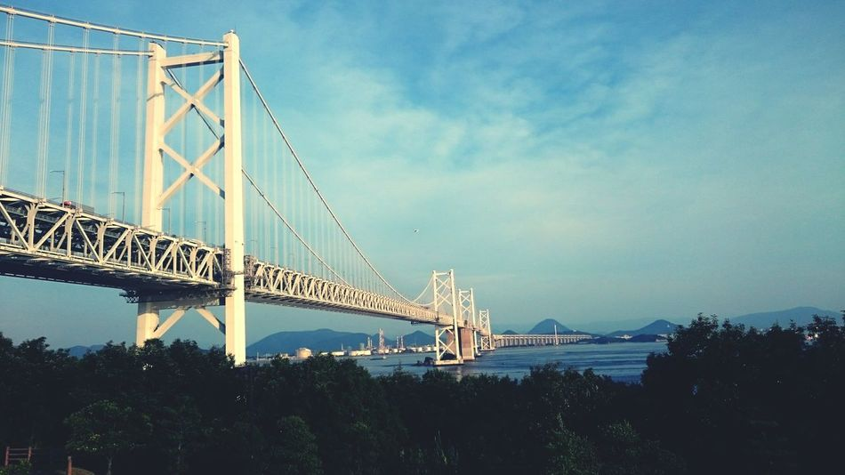 瀬戸大橋 Japan Bridge Highway 瀬戸大橋 瀬戸内海 Sea And Sky MyFavorite  Myfavoriteplace
