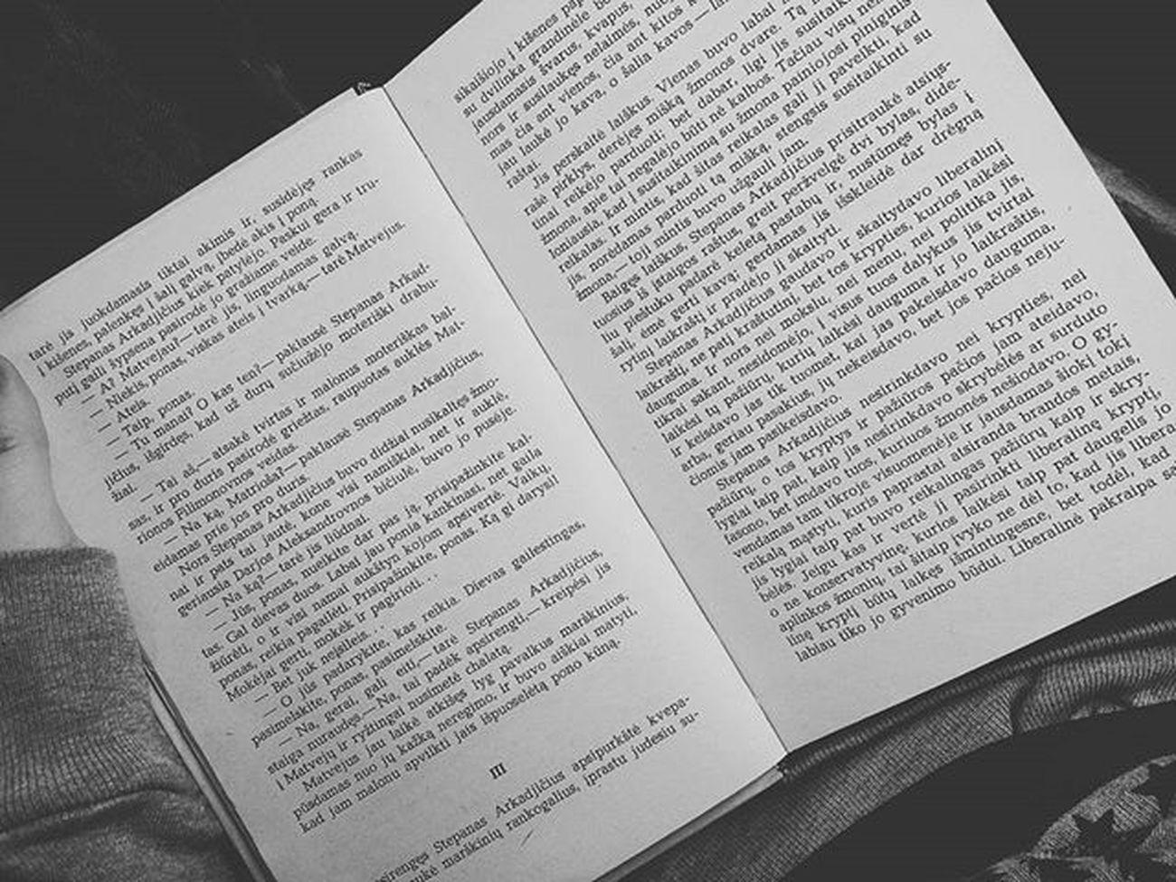 📖 Knyga Skaitymas 2016 Book Anakarenina Lithuania