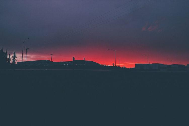 Healy Healyalaska Alaska Sky And Clouds Sky Skyporn Skyonfire Sunset Sunset #sun #clouds #skylovers #sky #nature #beautifulinnature #naturalbeauty #photography #landscape