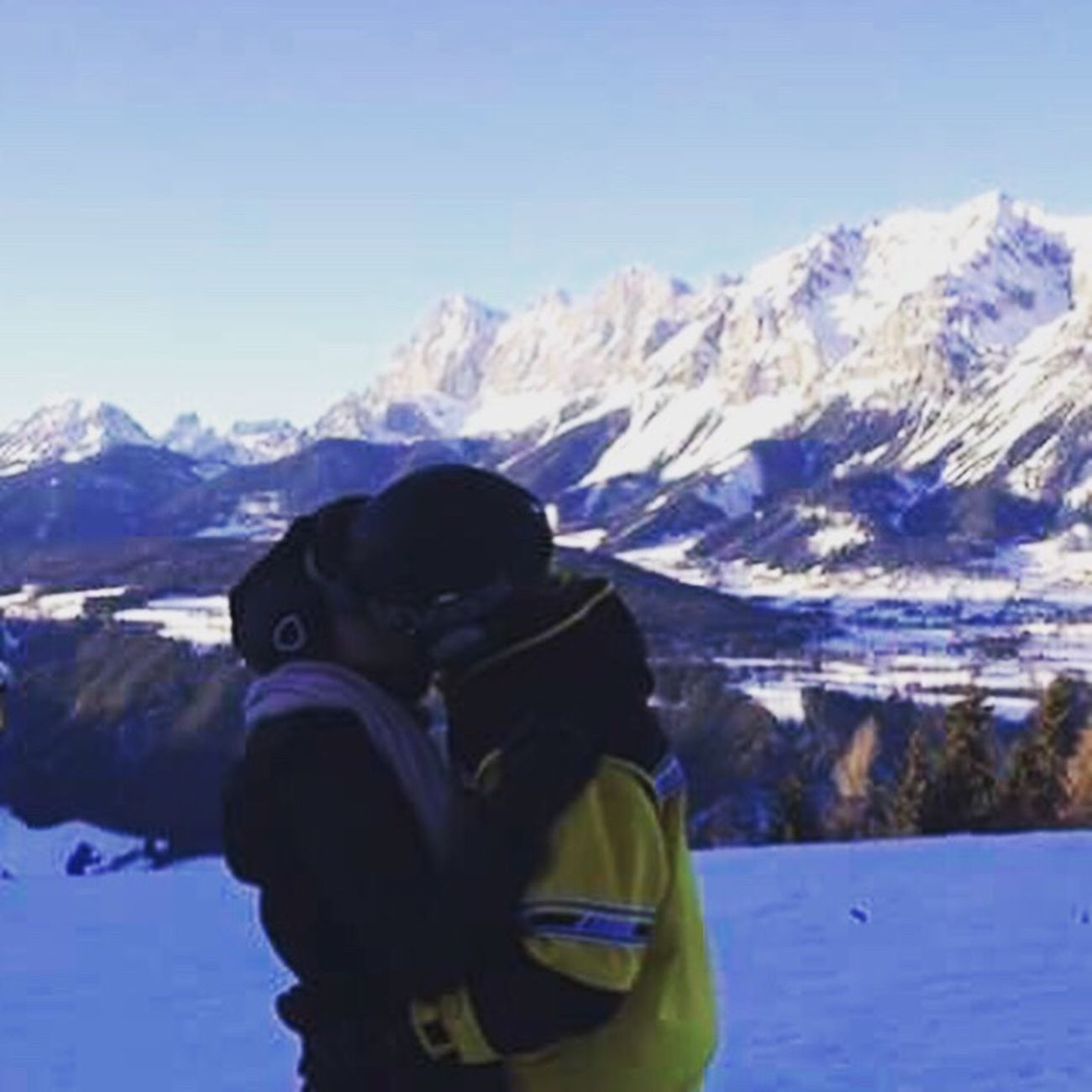 Die Liebe Meines Lebens Two People Mountain Snow Winter Cold Temperature Adventure Togetherness Big Love Ich Liebe Dich ! Followme New Account Follow4follow Follow