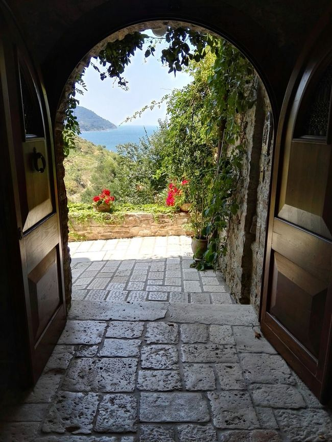 Sunshine Relaxing Porta Sull'infinito Sea View Paradise Convento Resort Happiness Enjoying Life