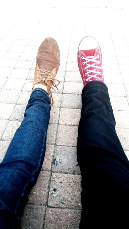 Spending my time Jeans Casual Clothing Sidewalk Street Lifestyles Outdoors First Eyeem Photo