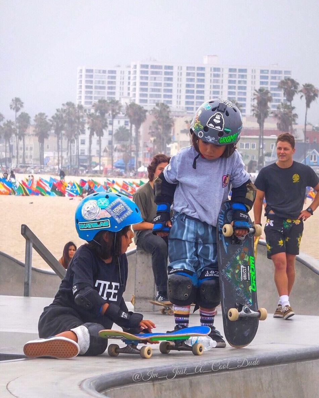 Start Em YOUNG Venice Beach Skatepark Venicebeachskatepark Kids Are Awesome Skateboarding SkateboardLifeStyle Skateboardingisfun Skateboardphotography Talented