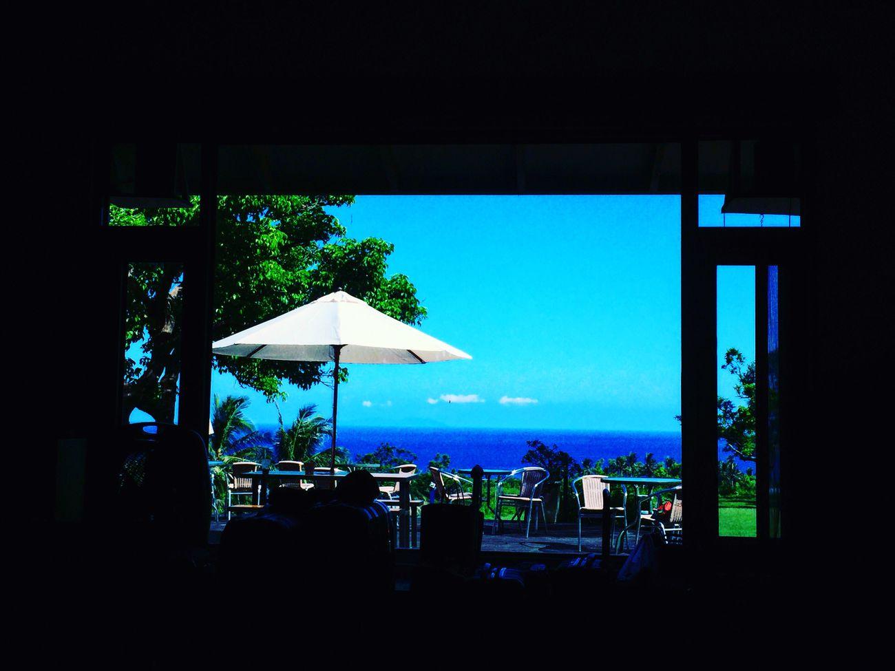 窗外的海岸 First Eyeem Photo
