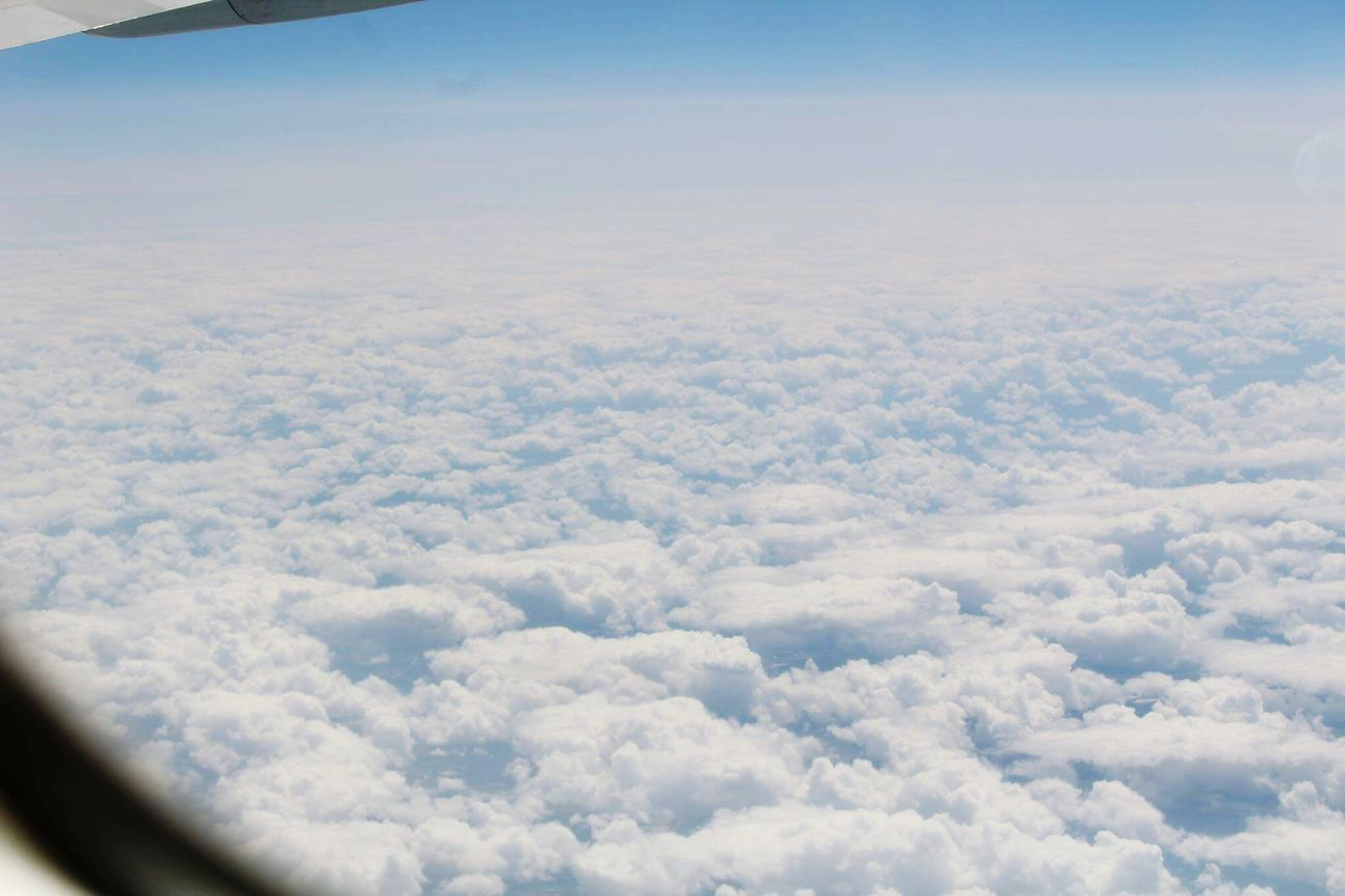 Sky & clouds View From An Airplane Sky Clouds Hello World Relaxing Morning Daydream Infinity Air Canada Voyage