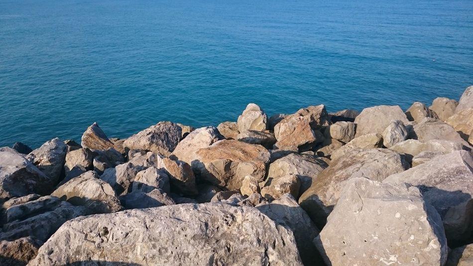 Mar Rock Playa Beach Blue Water Agua Mexico Tampico Azul Piedras