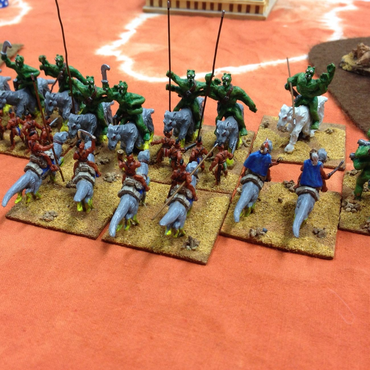 Warriors of Mars - Barsoom Wargames Hordes Of The Things Hobby