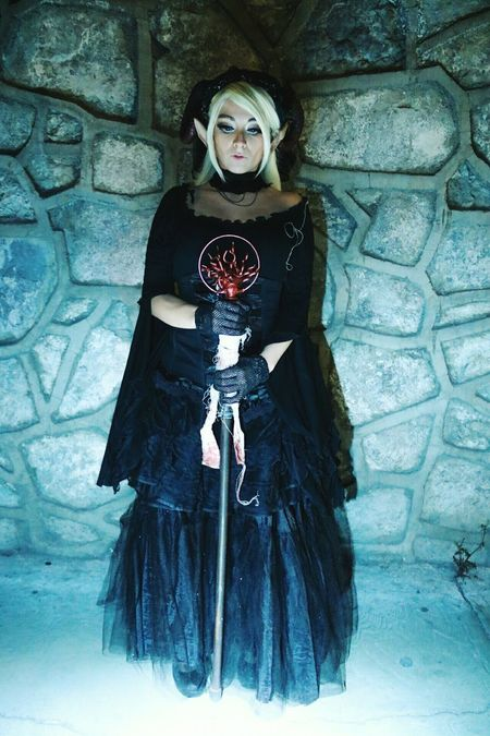 Magic Halloween Costume Elven One Woman Only Stage Make-up Witch Dungeons And Dragons Dungeons & Dragons Fantasy World Beautiful Woman Elf Ears Fantasy Elf Fantasy Fair Young Women Fantasy Photography Elvenpath Elf Only Women Elve Magical
