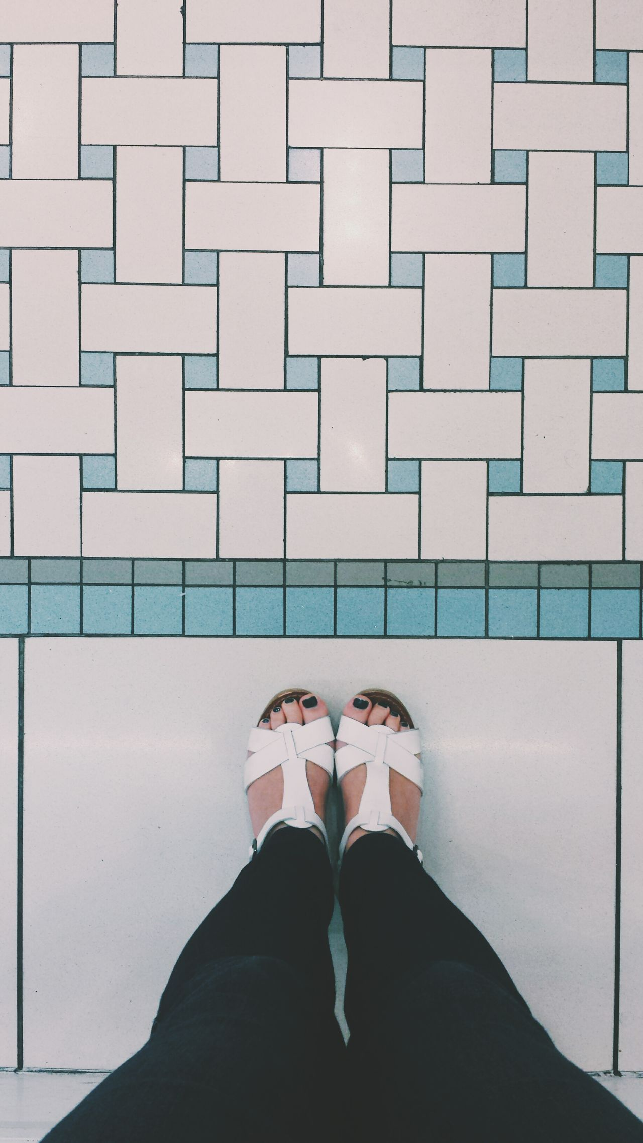 Beautiful stock photos of floor, Adult, Close-Up, Footwear, High Angle View