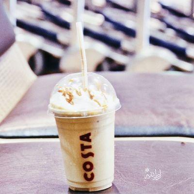 "Costa Cafe  تصويري _ "": - مُنذ عامٓ لمٓ أكُنَ أُشبهٓ نفسِيٓ هذهٓ اللحظهٓ ..!"""