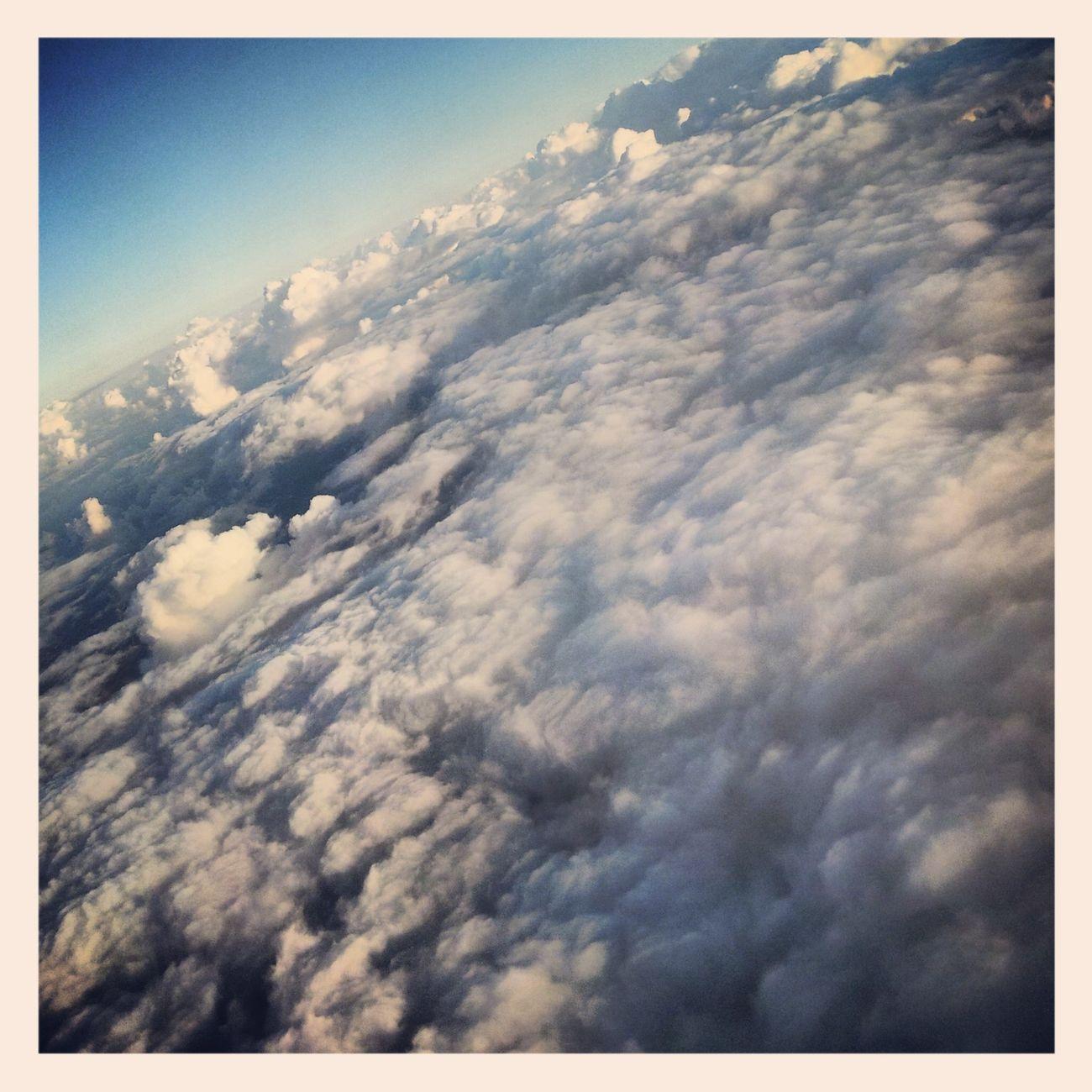 En las nubes, mi estado favorito...