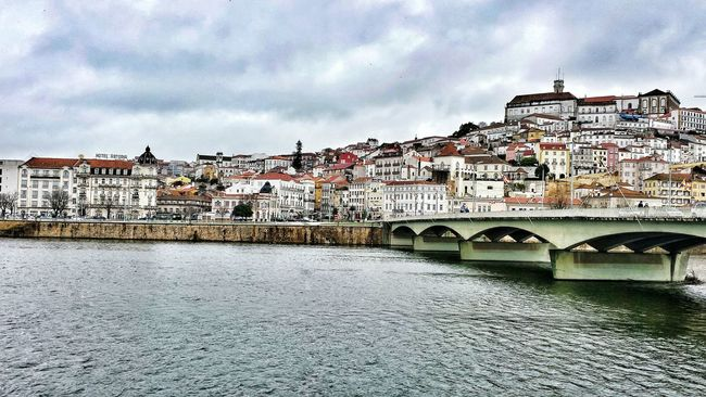Coimbra is a really charming city. Coimbra View Cityscapes Charming Mondego Portugal Great Atmosphere