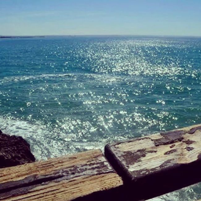Missing Port Elizabeth. ♥ Portelizabeth Southafrica Happytimes Beach Ocean Sea Clouds Memorablemoments April 2014 Thingsilove Thingsimiss ♥♥♥ Bridge Rocks Clearsky Waves