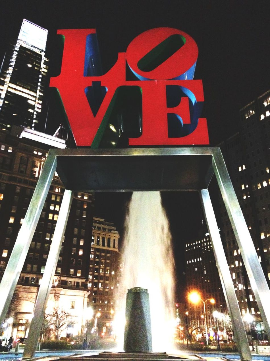 Love Cityscapes Lookingup Philadelphia Travel Photography Adventures Love Park Life