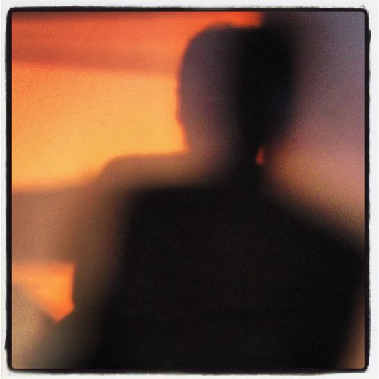 Sunset Silhouettes That's Me Check This Out Self Portrait