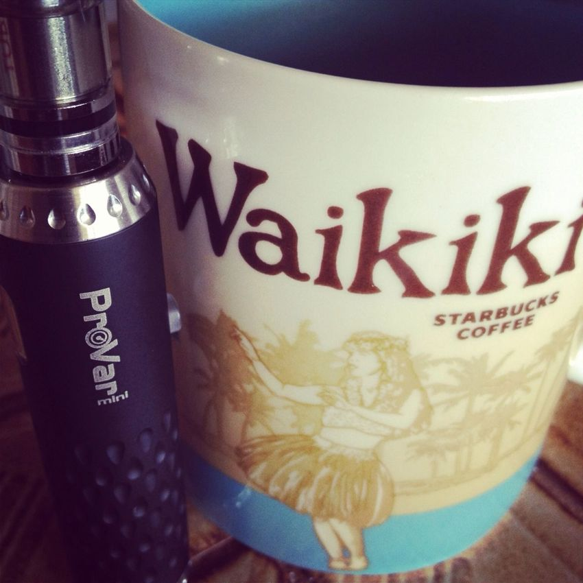 100% kona coffee and a vape to start the day. Merry Christmas!