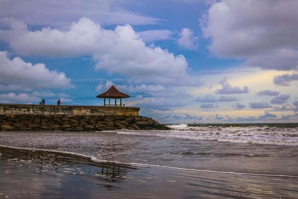 Before sunset at the beach... Nature Sky Beach Landscape Photography Wonderfulindonesia