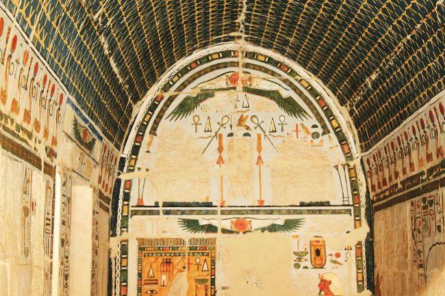 Temple Of Hatshepsut Painting Egypt Temple