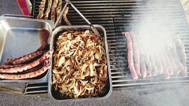 What I Value Salsiccia Grigliata Arrostita Foodphotography Streetfood A Taste Of Life Brace Sicily Onions