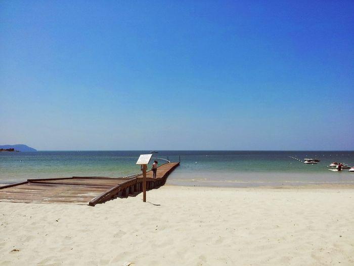 Creamy white sand Beach Langkawi Island Holiday Vacation Getaway  Malaysia