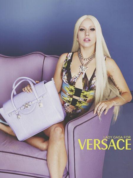Versace Ladygaga DONATELLA Rainha